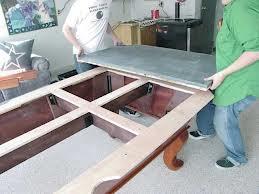 Pool table moves in Toledo Ohio