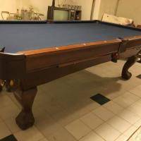 Like New Brunswick 8 ft Contender Series Pool Table