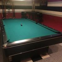 Pool Table and Chairs
