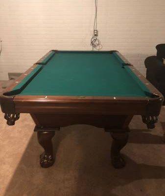 American Heritage Vienna 7 Foot Slate Pool Billiards Table