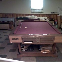 "Brunswick ""VIP NINE"" 9 foot Pool Table"
