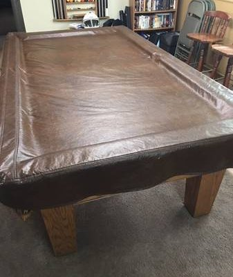 Beautiful 8ft Proline Oak Pool Table