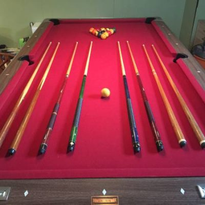 Fisher 8' Pool Table