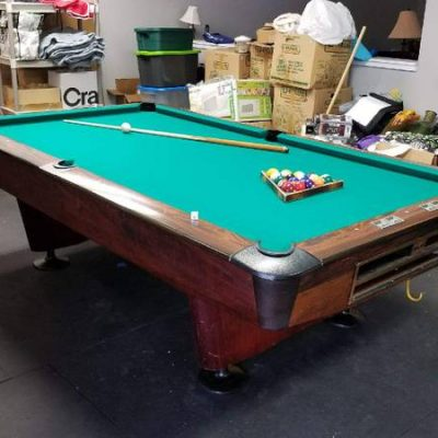 8 Foot Commercial AMF Pool Table