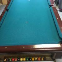 8' Very Nice Pool Table, Ping Pong Table & Tons Of Extras