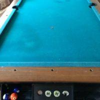 8ft Pool Slate Pool Table